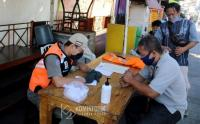 Operasi Yustisi Masker di Kawasan Petamburan, Jakpus