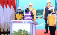 Presiden Jokowi Resmikan Tol Pekanbaru-Dumai Lewat Virtual
