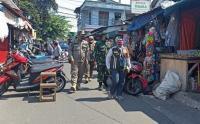Operasi Tibmask di Pasar Jangkrik, 2 Pelanggar Kena Sanksi Sosial