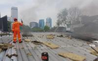 Kebakaran Ruko di Kebayoran Baru, 9 Mobil Damkar Dikerahkan