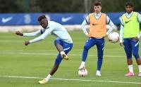 Latihan Chelsea Jelang Laga Kontra West Bromwich
