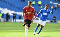 Penalti Fernandes Bawa Man United Menang Tipis atas Brighton