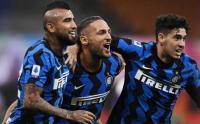 Drama 7 Gol di Giuseppe Meazza, Inter Menang Tipis atas Fiorentina