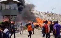 Terjadi Kebakaran Siang Ini di Cilincing