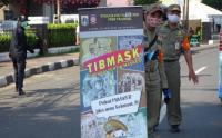 Operasi Tertib Masker di Jalan KS Tubun