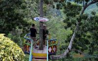 Lelah, Mampir ke Rest Area Ini untuk Melihat Pemandangan Lembah Gunung Gumitir