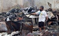 Wakil Wali Kota Jakpus Tinjau Lokasi Kebakaran Pasar Cempaka Putih