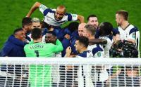 Euforia Pemain Tottenham Kalahkan Chelsea via Adu Penalti