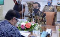 Presiden Jokowi Pimpin Ratas Antisipasi Penyebaran Covid-10 saat Libur Akhir Oktober