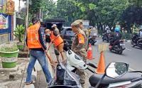 Satpol PP Gelar Operasi Tertib Masker di Kawasan Setiabudi