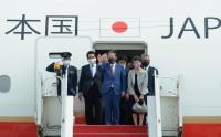 PM Jepang Tiba di Bandara Internasional Soekarno-Hatta
