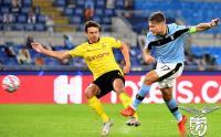 Aksi Ciro Immobile Bawa Lazio Bungkam Borussia Dortmund