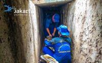 Antisipasi Genangan, Saluran Air di Wilayah Menteng di Bersihkan