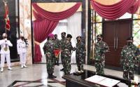 Panglima TNI Pimpin Sertijab Kasum, Kabais dan Dandenma