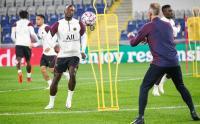 Latihan Pemain PSG Jelang Laga Tandang Kontra Istanbul Basaksehir
