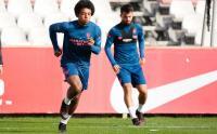 Intip Latihan Pemain Sevilla Jelang Laga Kontra Rennes