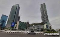 Libur Panjang Kawasan Bundaran Hotel Indonesia Lengang