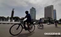 Libur Panjang Dimanfaatkan Warga untuk Bersepeda