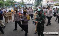 Kapolda Metro Jaya Tinjau Pelaksanaan Rapid Test Massal dan Bakti Sosial
