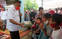 Cagub Petahanan Olly Dondokambey Sambangi Masyarakat Bolaang Mongondow