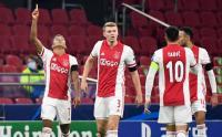 Ajax Kalahkan Midtjyland dengan Skor 3-1