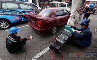 Uji Emisi Gas Buang Kendaraan dengan BBM Berkualitas