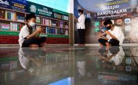 Perpustakaan Digital Masjid Darussalam Makassar Ramai Dikunjungi