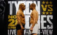 Jelang Pertarungan Mike Tyson Vs Roy Jones Jr