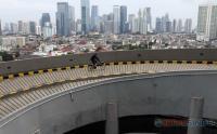 Intip Sensasi Bersepeda di Area Mal Jakarta