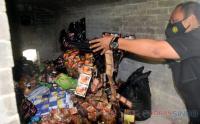 Polda Jateng Musnahkan 23.086 Jamu Tradisional Ilegal