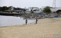 Begini Suasana Pantai Jimbaran Akibat Pandemi