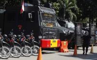 Suasana Terkini di Polda Metro Jaya Menunggu Kedatangan Habib Rizieq Shihab