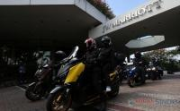 Puluhan Riders Mister Aladin Road Trip Protocol CHSE Big Max Indonesia