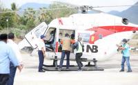 Gunakan Helikopter, Doni Monardo Tinjau Korban Letusan Gunung Ili Lewotolok