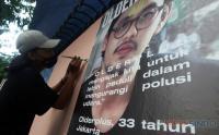 Lewat Mural, Seniman Ini Kampanyekan Udara Kota Bersih
