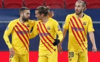 Tanpa Messi, Barcelona Menang Telak 3-0 Atas Ferencvaros