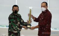 Perkuat Sinergitas, Kapuspen TNI Kunjungi MNC Media