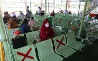 Pandemi Covid-19, Penumpang Kapal Ferry dari Pelabuhan Padang Bai Turun 50%