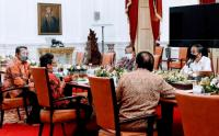 Presiden Jokowi Bertemu Pegiat Reforma Agraria Bahas Solusi Sengketa Tanah