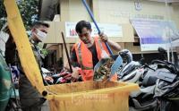 Persempit Penyebaran Covid-19, Petugas Gabungan Gelar Operasi Tertib Masker