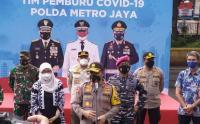 Polda Metro Jaya Launching Tim Pemburu Covid-19