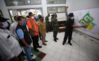 Kepala BNPB Tinjau Persiapan RS Lapangan Poltekes Malang