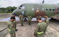 Bantu Korban Gempa Majene, TNI AU Terbangkan Alutsista