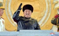 Senyum Lebar Kim Jong Un Hadiri Kongres Partai Buruh