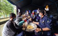Kemensos Bangun Posko Dapur Umum Bencana Gempa Mamuju dan Majene Sulbar