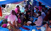 Pengungsi Gempa Mamuju Butuh Pakaian Layak dan Air Bersih