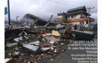 Data Terbaru, 81 Orang Meninggal Akibat Gempa di Sulawesi Barat