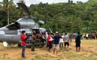Terisolir Akibat Gempa Majene, TNI AL Kerahkan Helikopter Kirim Bantuan