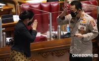 DPR Tetapkan Komjen Pol Listyo Jadi Kapolri ke-25