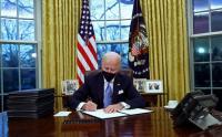 Ditinggalkan Trump, Biden Langsung Ubah Dekorasi Ruang Kerja Presiden